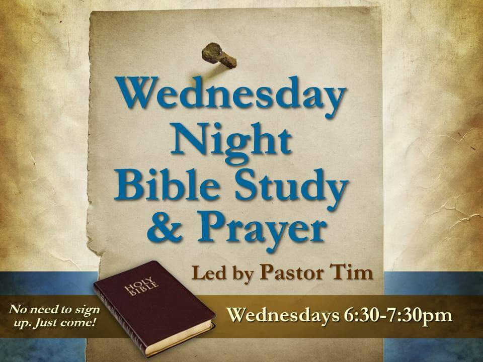 Bible Study & Prayer